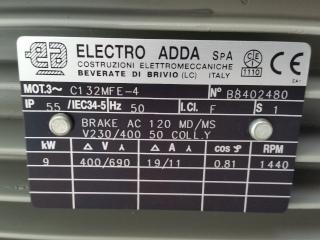 Plaque moteur frein Electro Adda