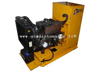 Groupe électrogène diesel SDMO